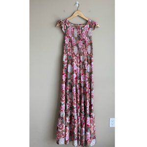 NWT Anthropologie Abel The Label Floral Maxi Dress